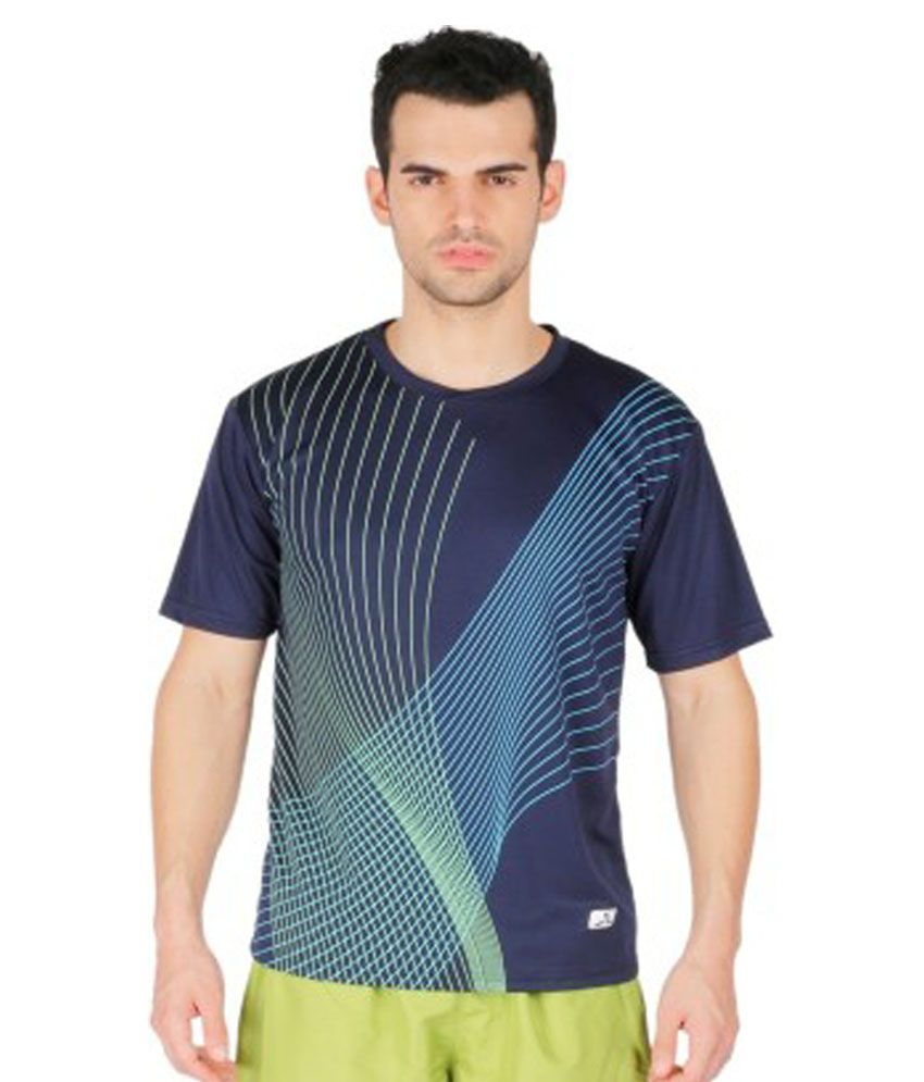 Vector X Printed Men's Round Neck T-Shirt