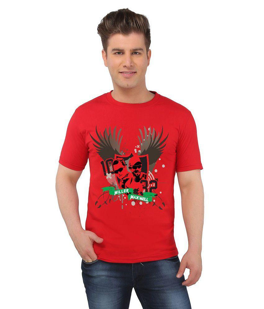 IPL T20 KXIP Crew Neck T-Shirt - Maxwell & Miller