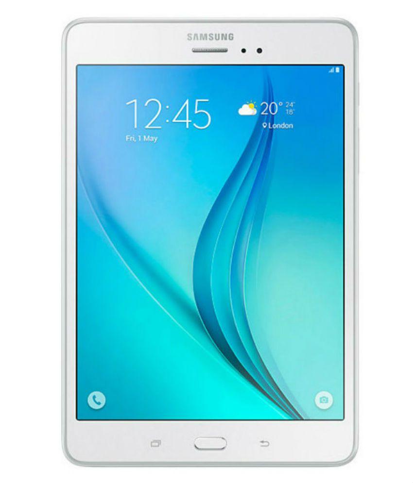 Samsung Galaxy Tab A T355Y 16 GB 8 inch with Wi-Fi+4G(Smoky Titanium) Galaxy Tab A T355Y