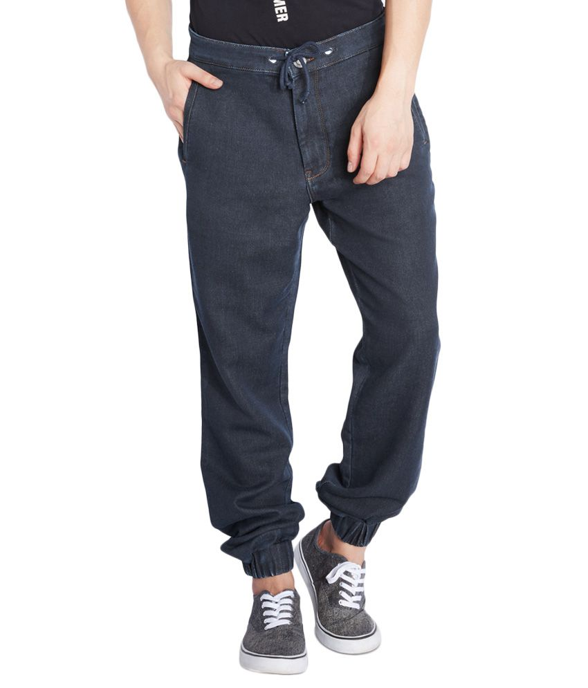 Parx Navy Regular Fit Jeans