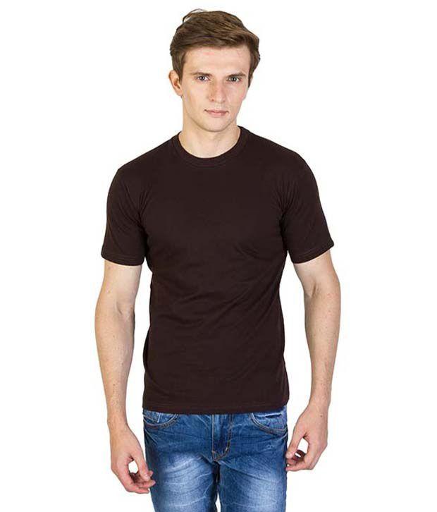 Mansway Black Round T Shirt