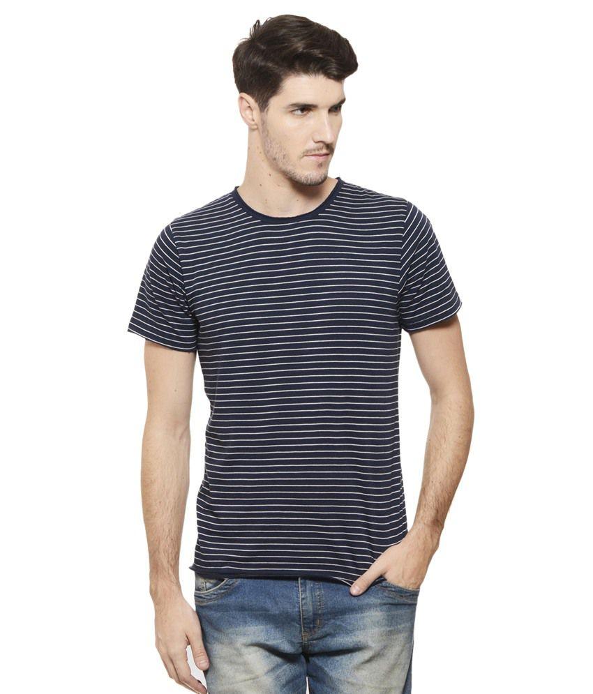 9fc94ba1a Rigo Navy Round T Shirt - Buy Rigo Navy Round T Shirt Online at Low Price -  Snapdeal.com