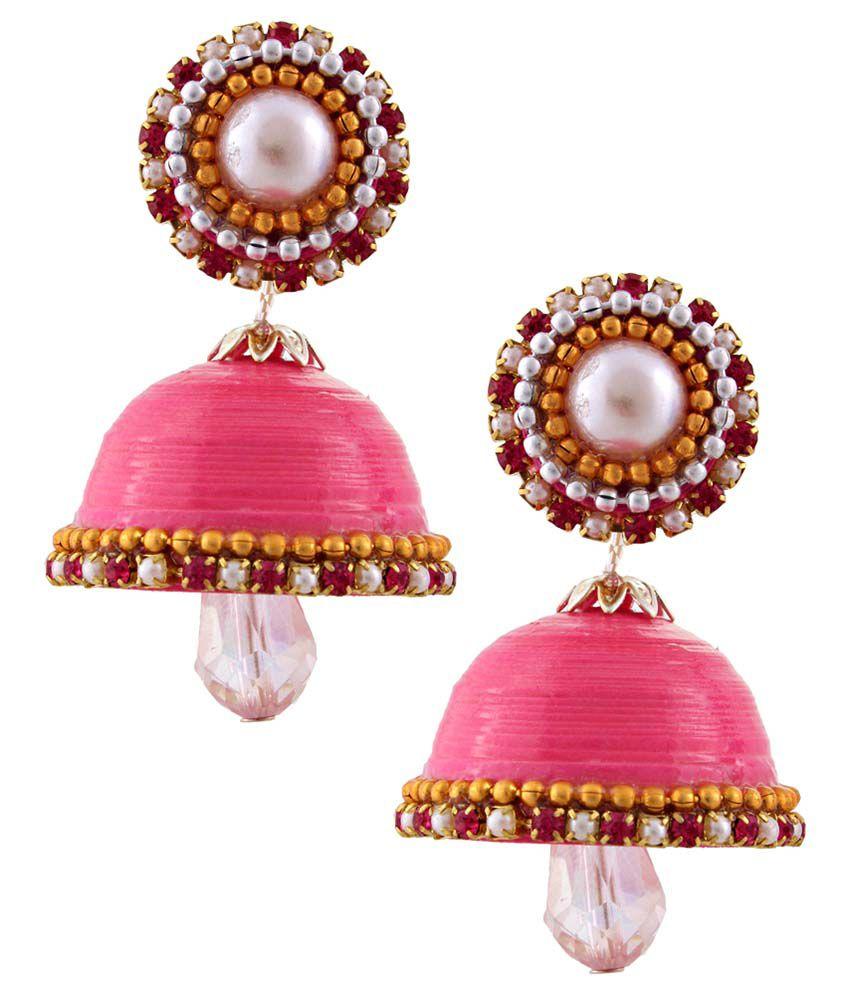 Pioneerpragati Pink Jhumki