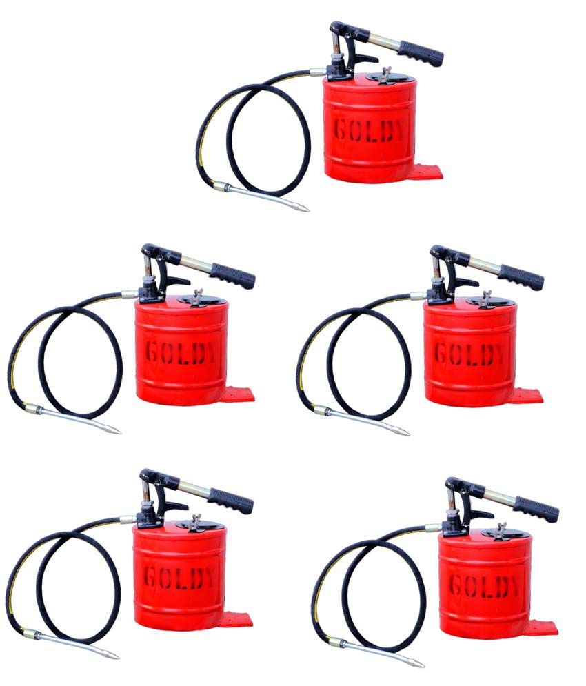 Goldy 10 Kg Grease Gun - Pack Of 5