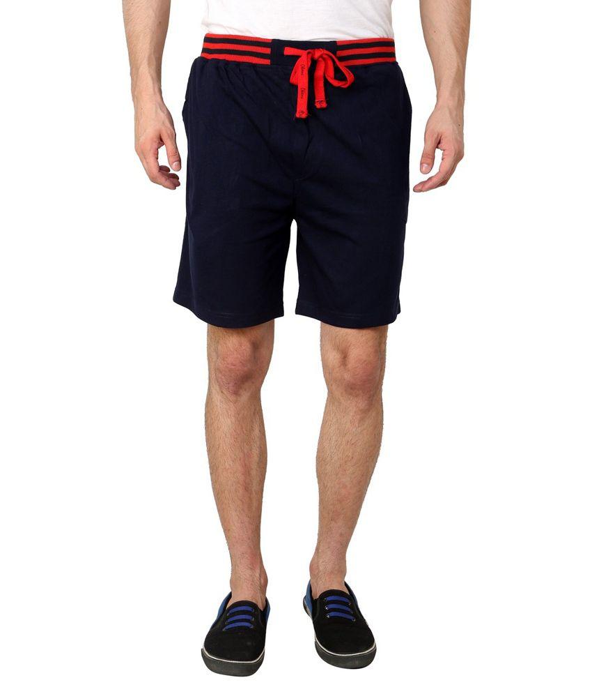 Okane Navy Shorts