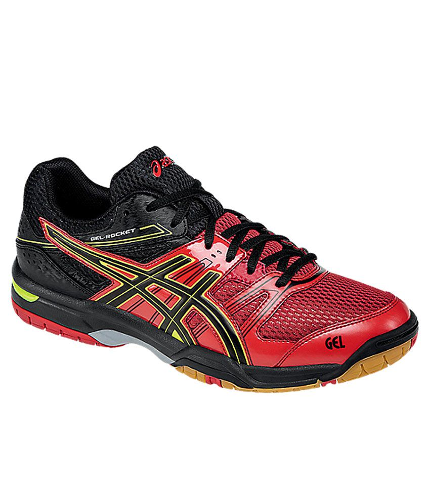 Asics Gel-Rocket 7 Red Badminton Sports