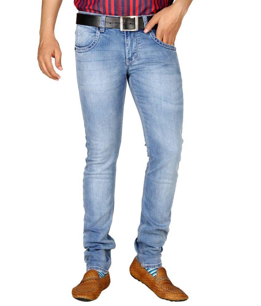 Jadeblue Blue Slim Fit Solid Jeans