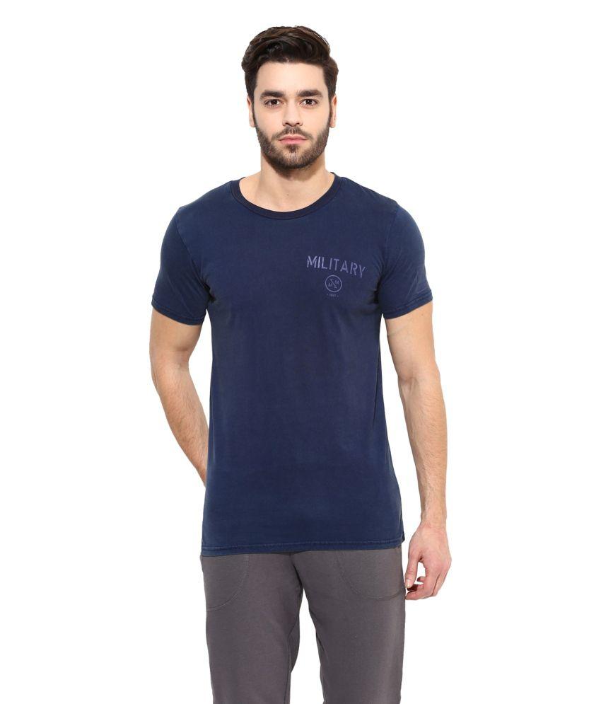 Monteil & Munero Blue Round T Shirt