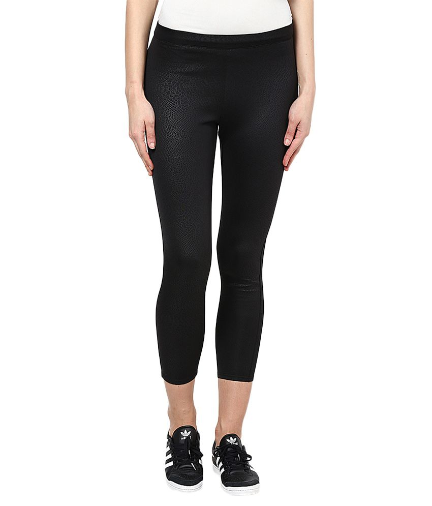 f0b6809d51f93 Buy ONLY Black Leggings Online at Best Prices in India - Snapdeal