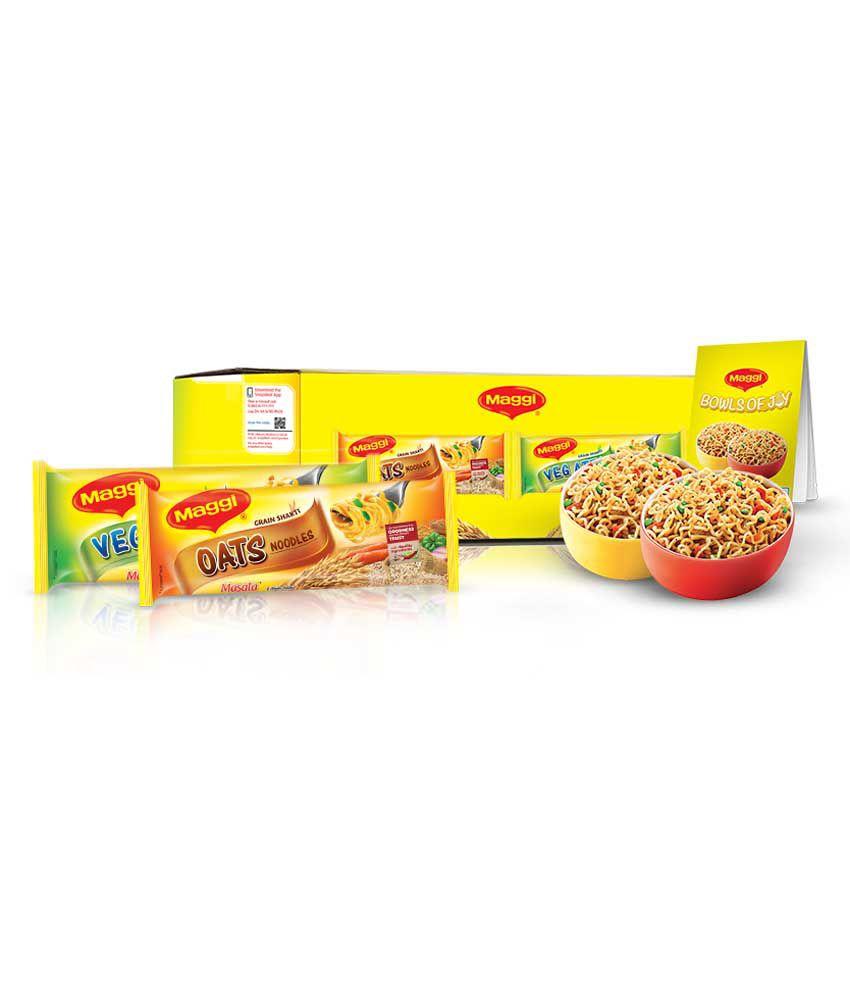 MAGGI Veg Atta & Oats Noodles Welcome Kit