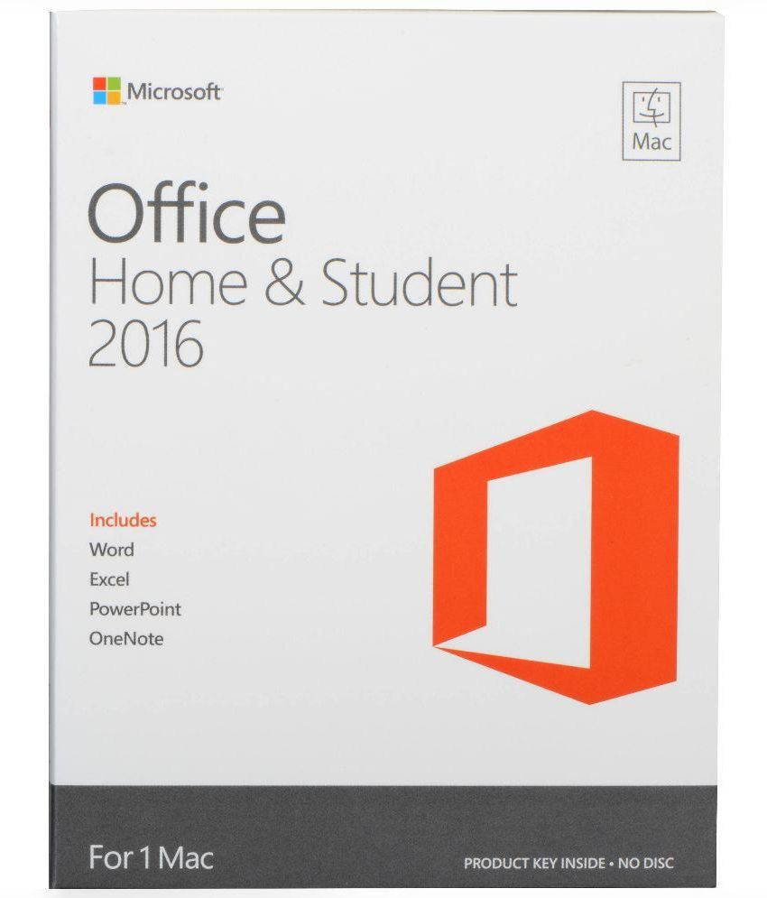 Microsoft office home and student 2016 low price