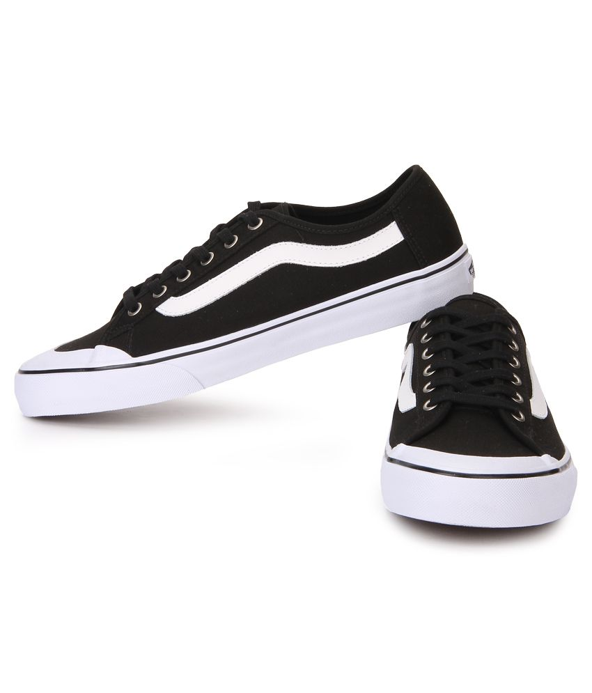 Vans Black Ball Sf Black Canvas Casual Shoes