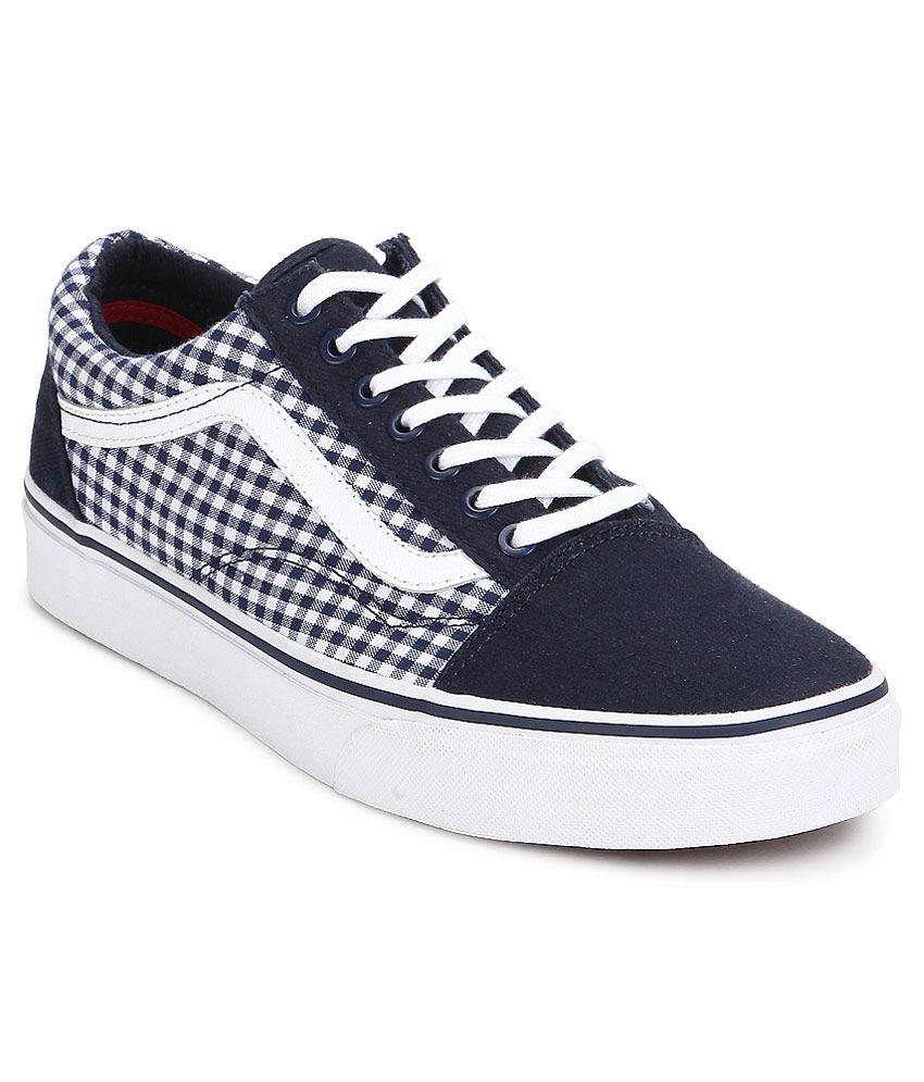 Azules Casuales Skool Lona Zapatos Vans Old De W6xvfqzu Comprar Uqt6W
