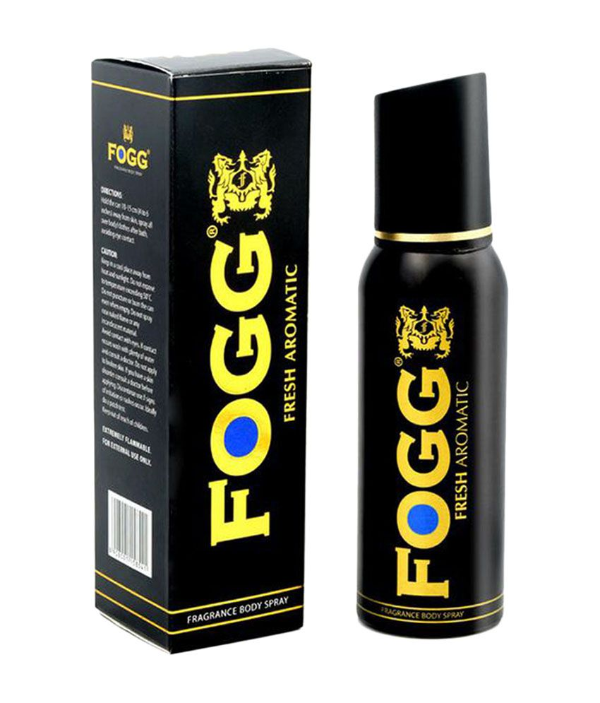 Fogg Black Fresh Aromatic Deo | 120 ml