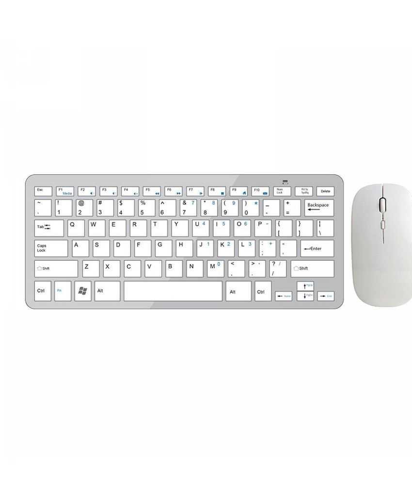 finger 39 s ultra thin aluminium bluetooth silver wireless keyboard mouse combo keyboard buy. Black Bedroom Furniture Sets. Home Design Ideas
