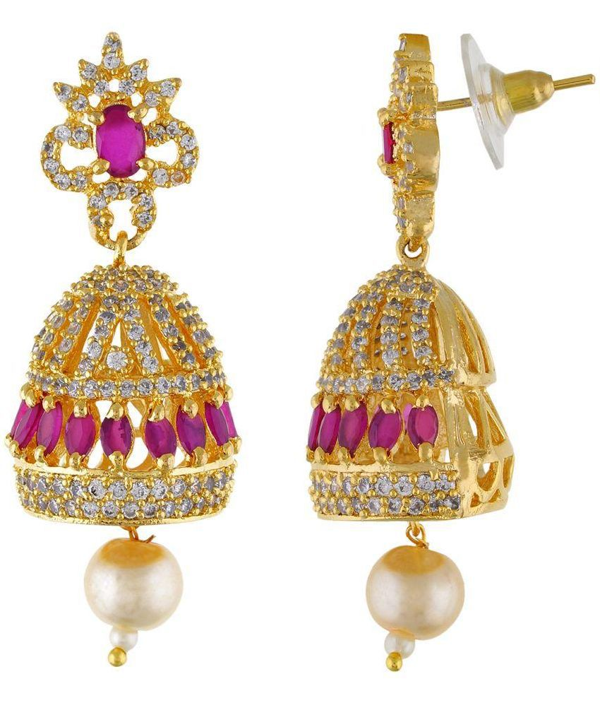 Golden Queen Golden Jhumki