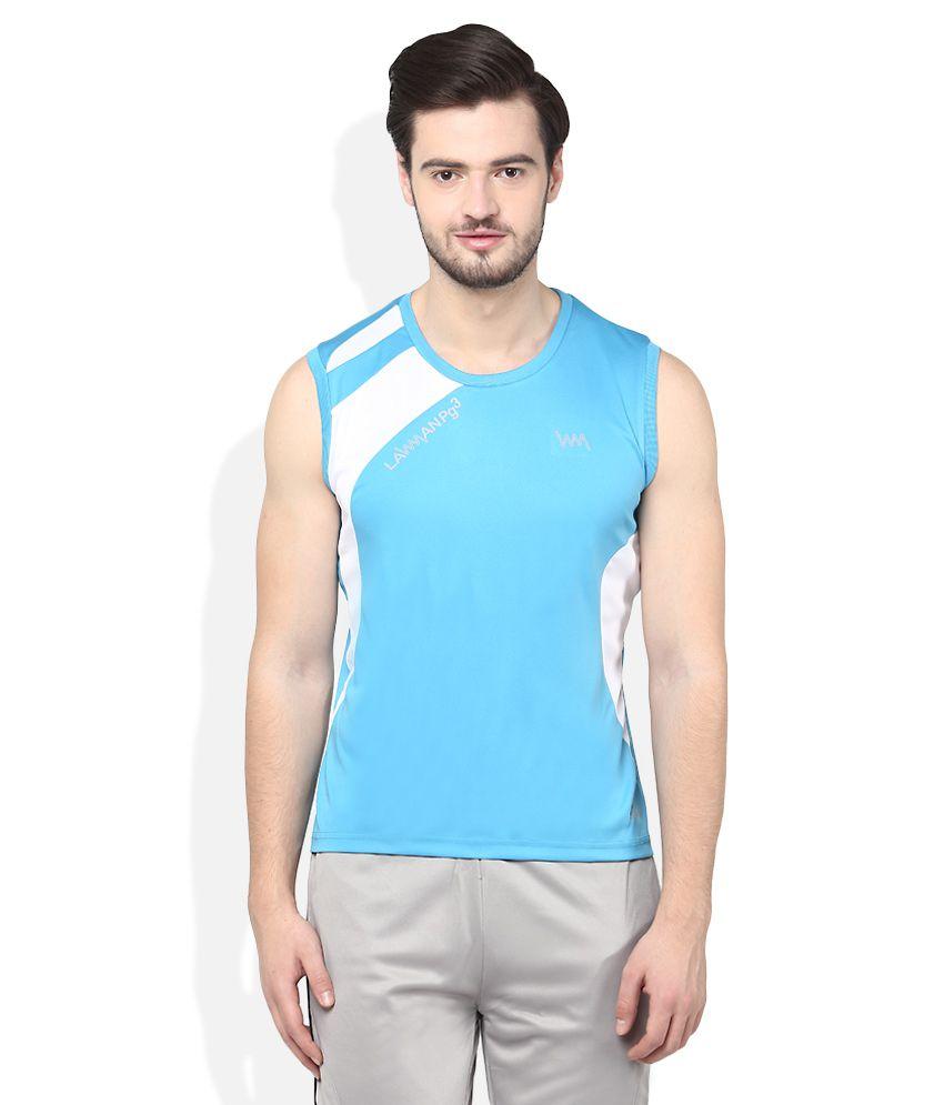 Lawman Pg3 Blue T-Shirts