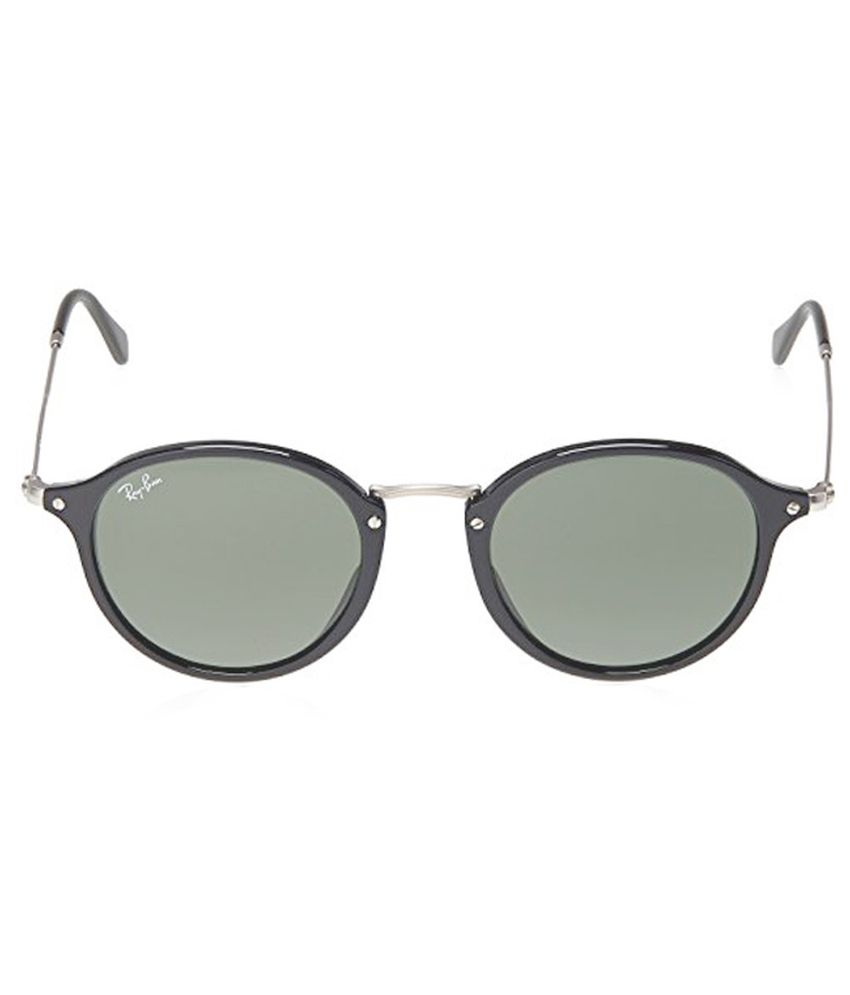 10c0c9f6c8a5 Ray-Ban Green Round Oversized Sunglasses (RB2447 901 49-21) - Buy ...