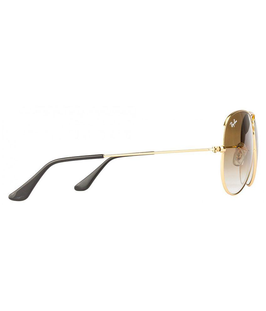 db077495894 Ray-Ban Brown Aviator Sunglasses (RB3025 001 51 58-14) - Buy Ray-Ban ...