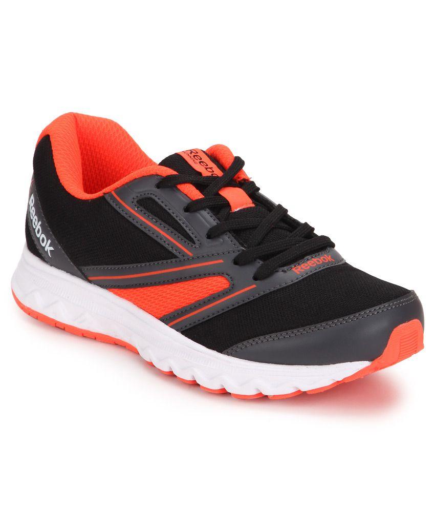 Reebok Explore Run Black Sports Shoes