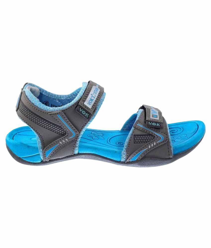 d25765d2a71 Vok Star Blue Floater Sandal Price in India- Buy Vok Star Blue ...