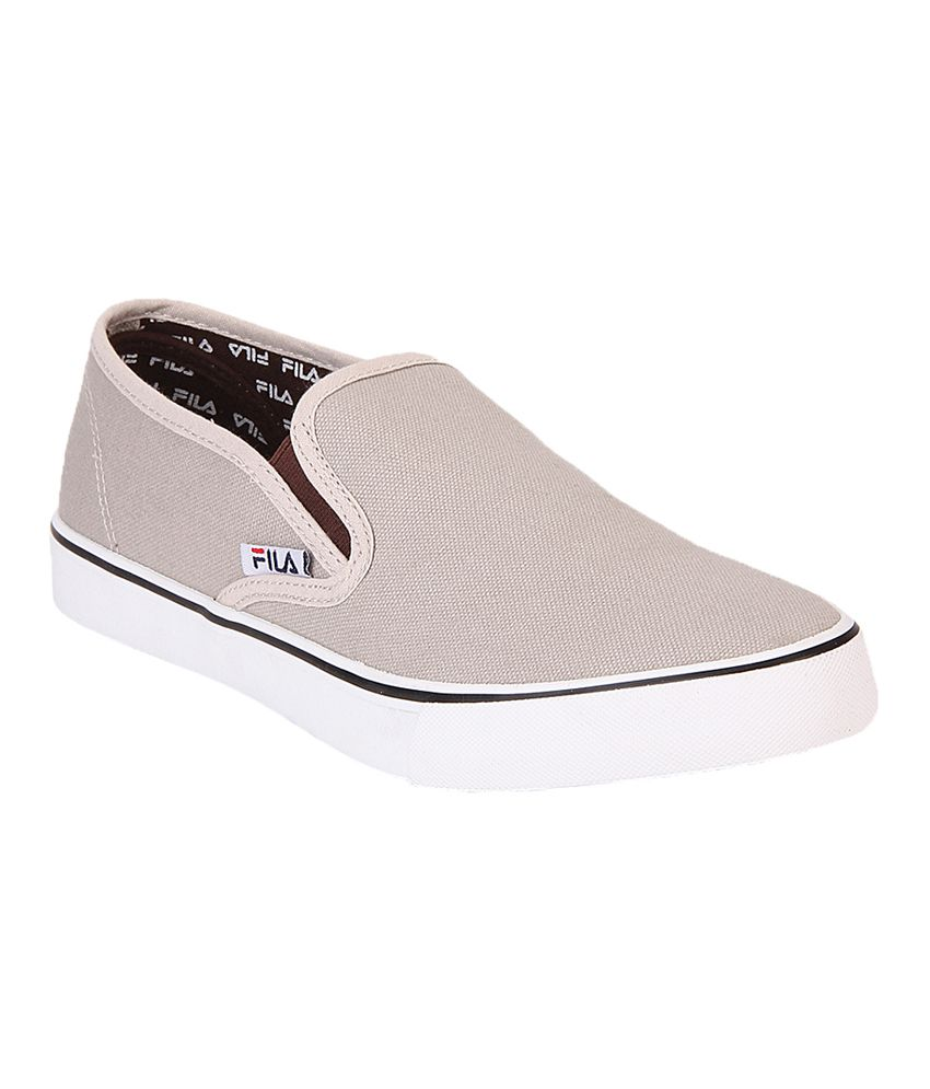 db53c548977 Fila Gray Canvas Shoes - Buy Fila Gray Canvas Shoes Online at Best Prices  in India on Snapdeal