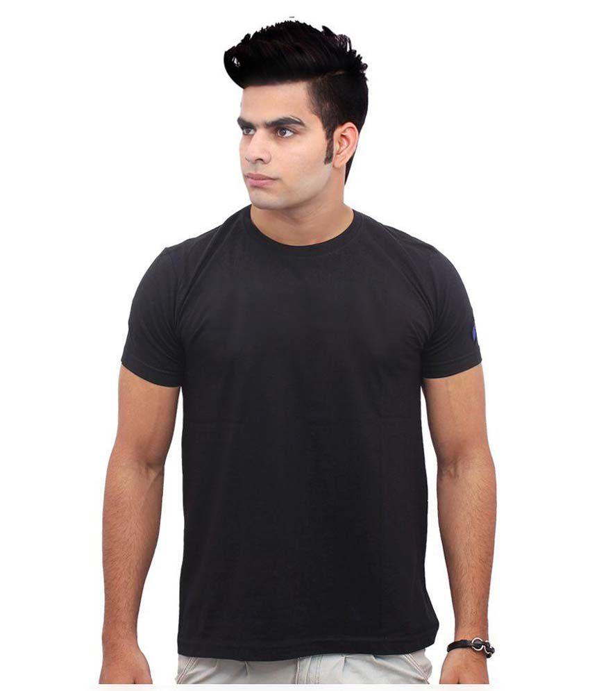 Jazzmyride Black Round T Shirt