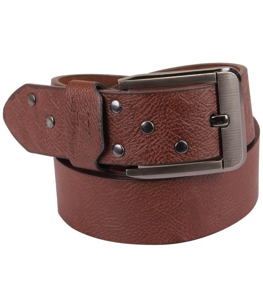 Zab Brown Belt for Men