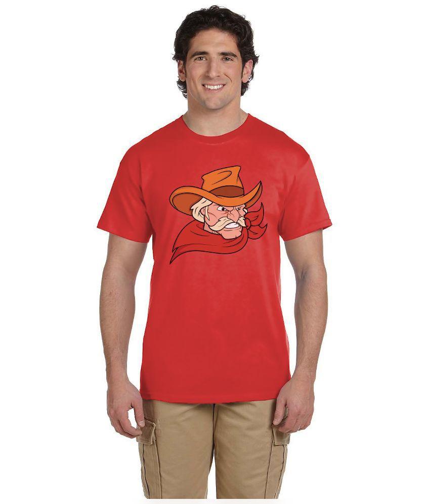 Haunting Dragons Red Round T Shirt