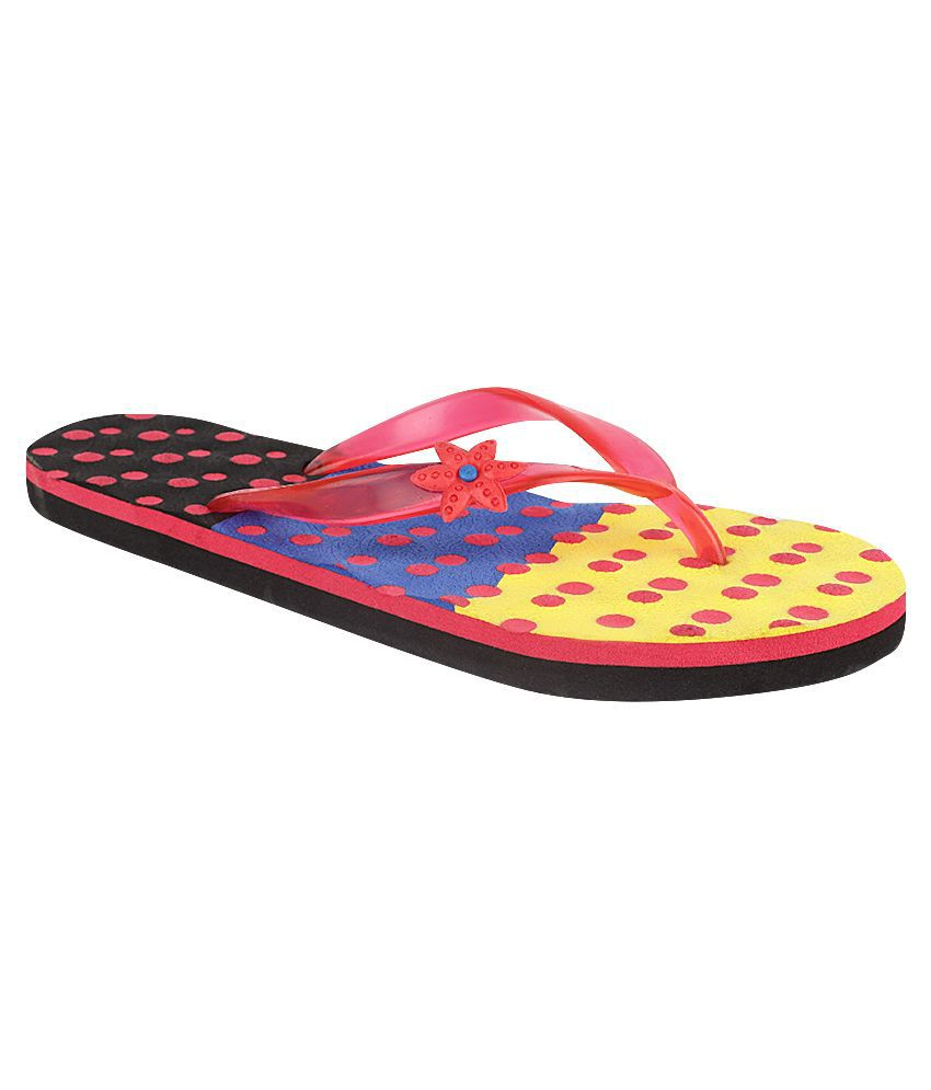 Fashion Victory Multi Flip Flops