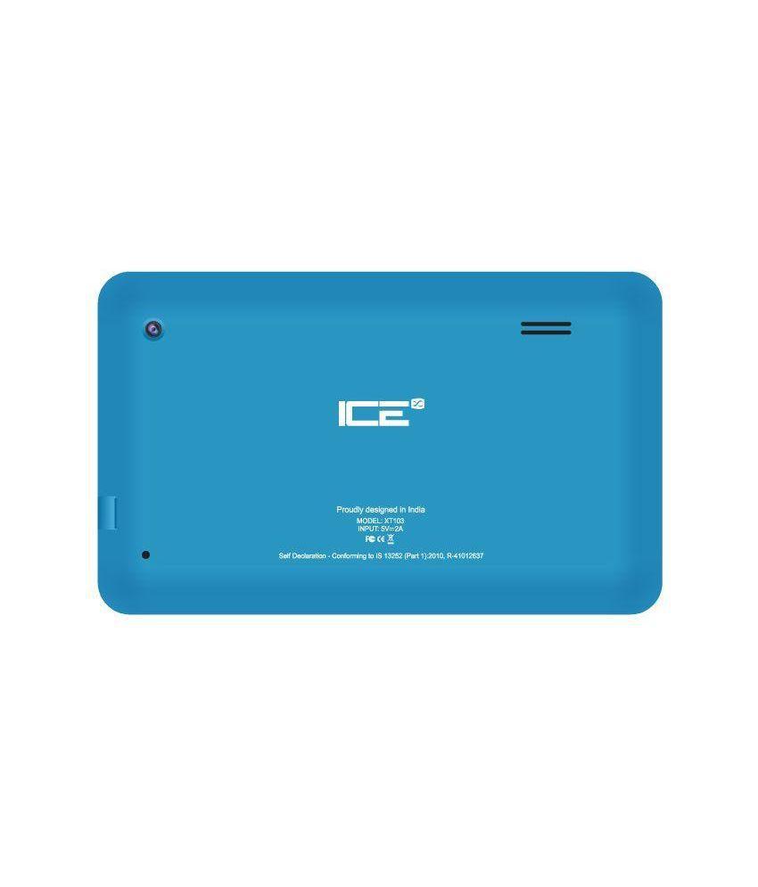 ICE XT103 (3G via Dongle + Wifi, Blue)