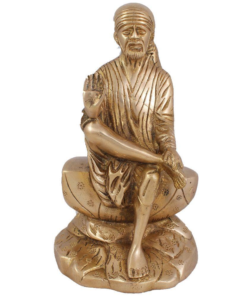 Arihant Craft Sai Baba Brass Idol