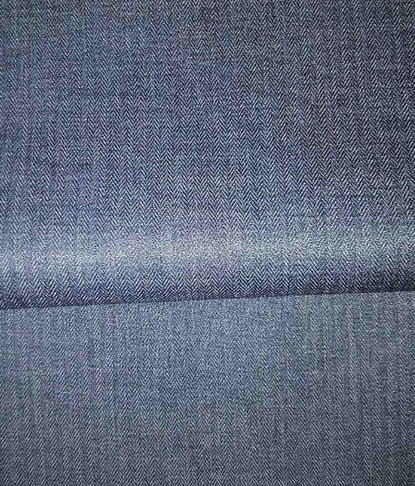 Kundan Sulz Gwalior Blue Poly Viscose Unstitched Pant Pc