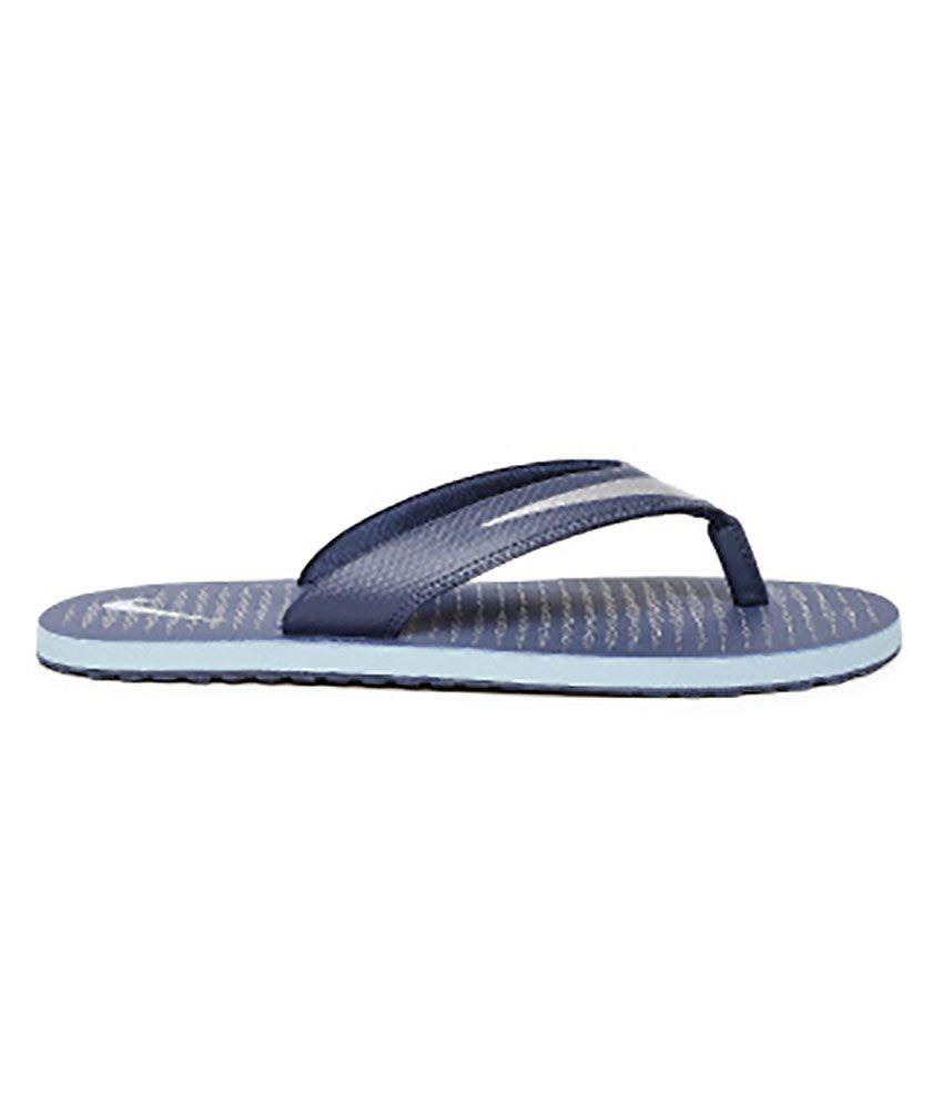 sports shoes 06e11 feee1 Nike Blue Slippers Art N833808400
