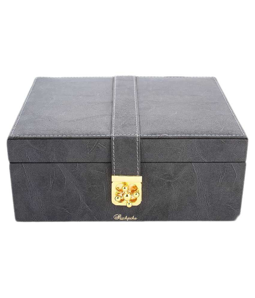 Richpiks Gray Jewellery Box