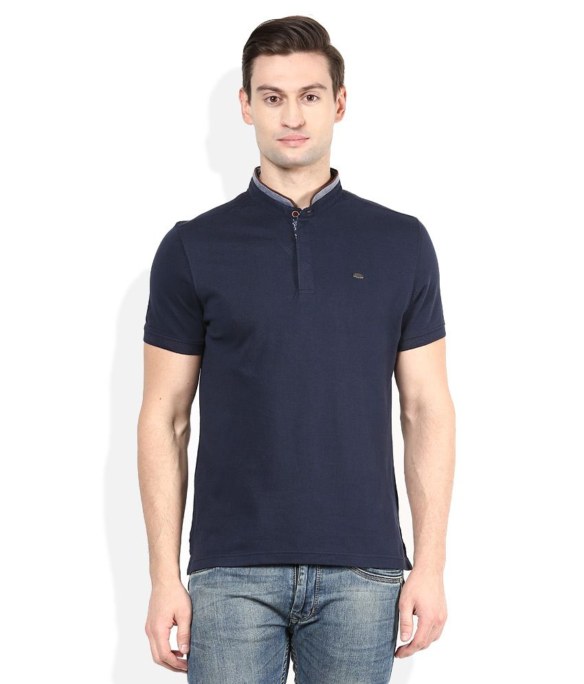 Numero Uno Navy Solids T-Shirt