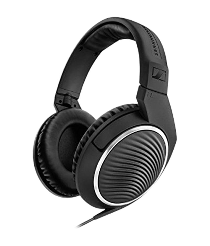 Sennheiser HD-461-I Over Ear Wired With Mic Headphone Black