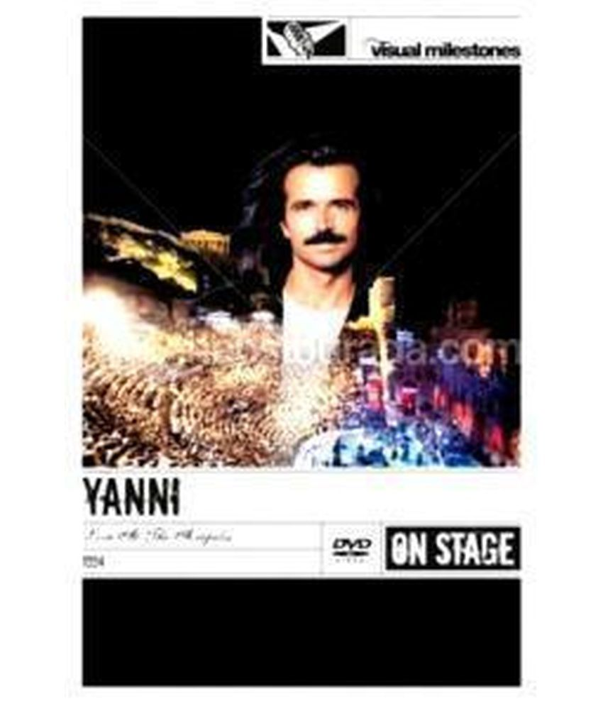 Yanni Live At The Acropolis DVD Audio English