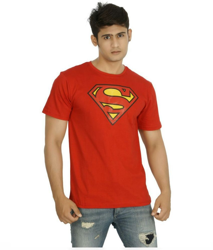 five on five Red Round T Shirt