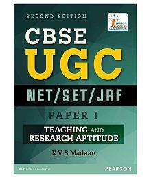 Cbse Ugc Net / Set/ Jrf Paper I Paperback English 2016