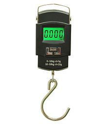 Highlight WHA08 50KG Digital Luggage Weighing Scale - Black