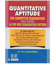 Quantitative Aptitude for Competitive Examinations (Fully Solved) Paperback English 1st Edition