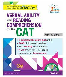 Verbal Ability And Reading Comprehension For The Cat 1/e Paperback English 2016