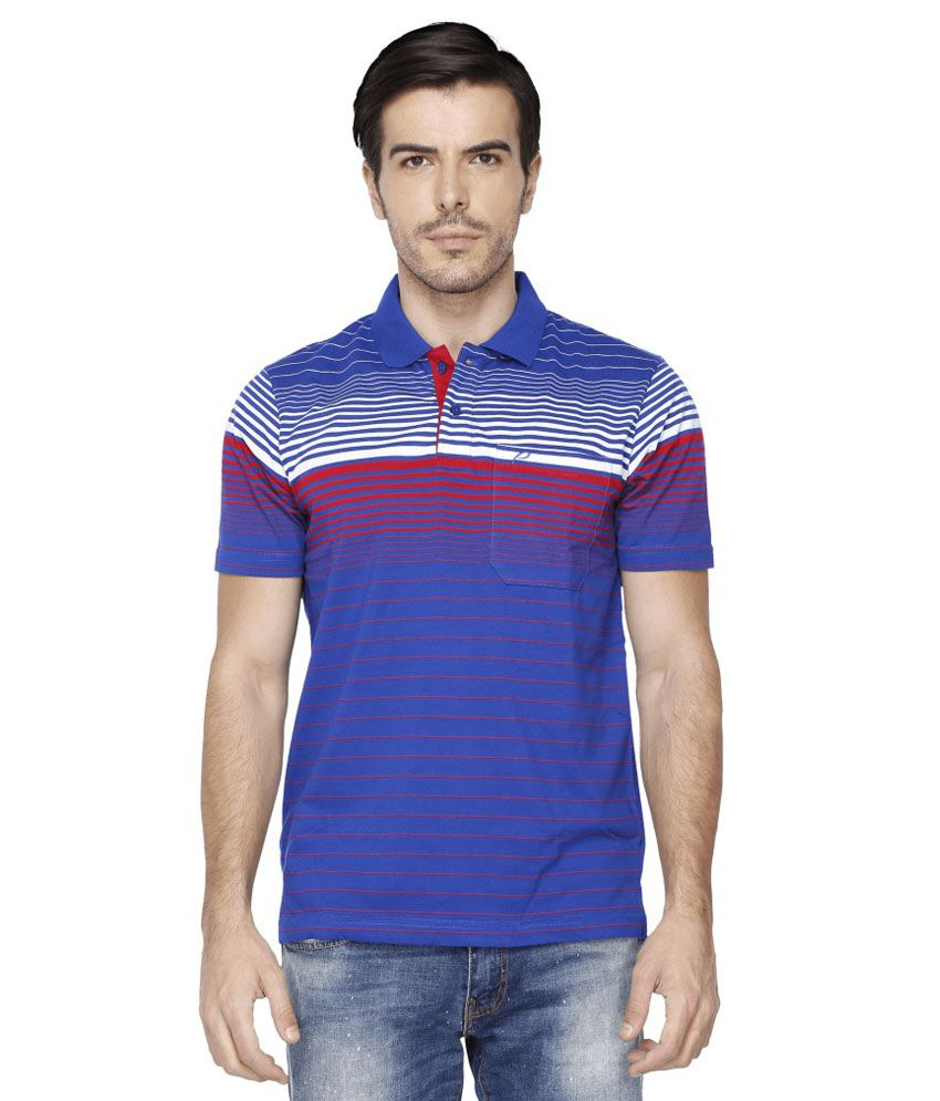 Proline Blue Polo T Shirts