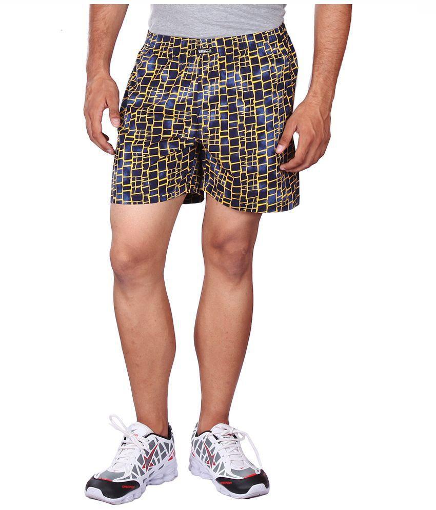 Black Casual Multi Shorts