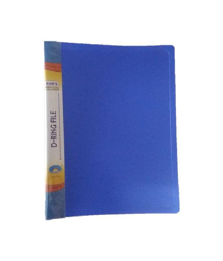 Sun's D Ring File - Pack of 4