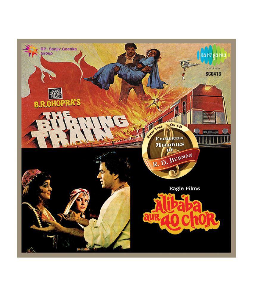 The Burning Train / Ali baba Aur 40 Chor Audio CD Hindi