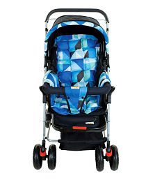 Mee Mee Baby Pram with Adjustable Seating Positions and Reversible Handle_Multi