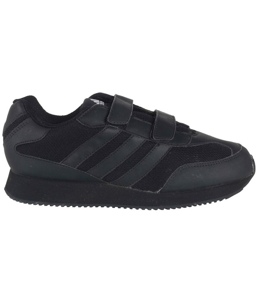 e3185614bf8b8e Adidas Velcro Black Sport Shoes For Kids Price in India- Buy Adidas ...