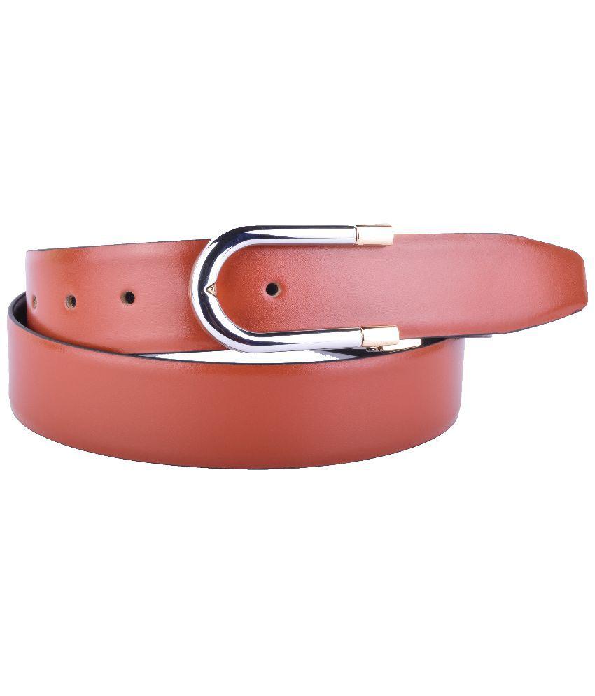 Callesto Brown Belt for Men
